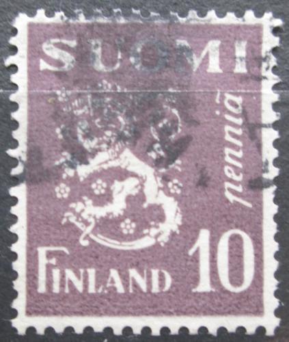 Poštovní známka Finsko 1930 Státní znak Mi# 144