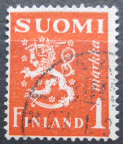 Poštovní známka Finsko 1930 Státní znak Mi# 150