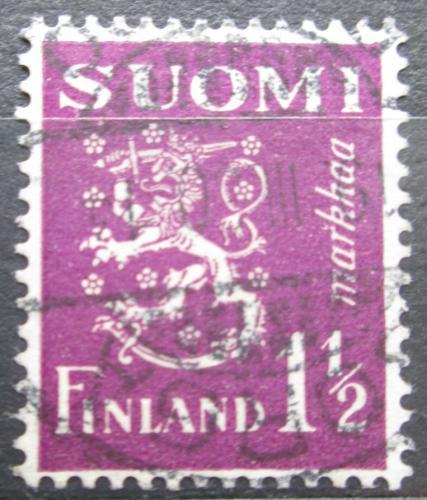 Poštovní známka Finsko 1930 Státní znak Mi# 152