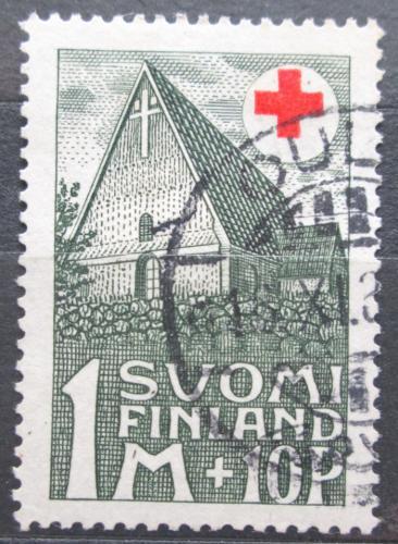 Poštovní známka Finsko 1931 Starý kostel v Hattula Mi# 164 Kat 8€
