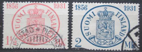 Poštovní známky Finsko 1931 První finská známka, 75. výroèí Mi# 167-68 Kat 10€