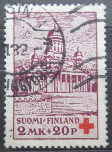 Poštovní známka Finsko 1932 Kostel v Helsinkách Mi# 174 Kat 7€