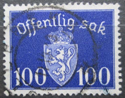 Poštovní známka Norsko 1942 Státní znak, úøední Mi# 43