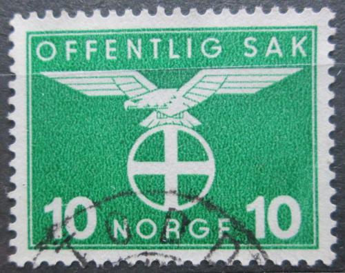 Poštovní známka Norsko 1942 Sluneèní køíž, úøední Mi# 46