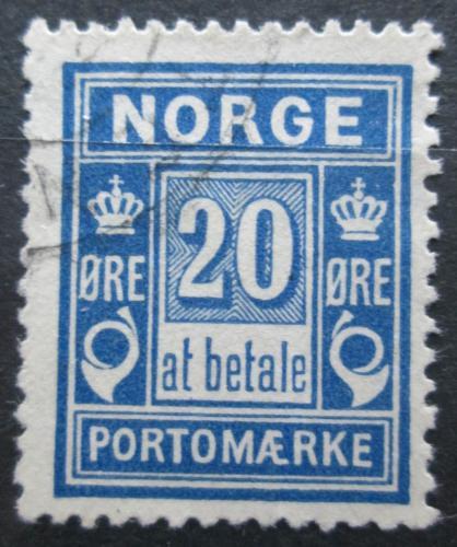 Poštovní známka Norsko 1899 Doplatní Mi# 5 II A