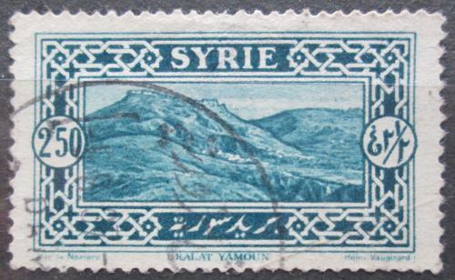 Poštovní známka Sýrie 1925 Kalat Yamour Mi# 271