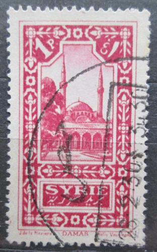 Poštovní známka Sýrie 1925 Damašek Mi# 267