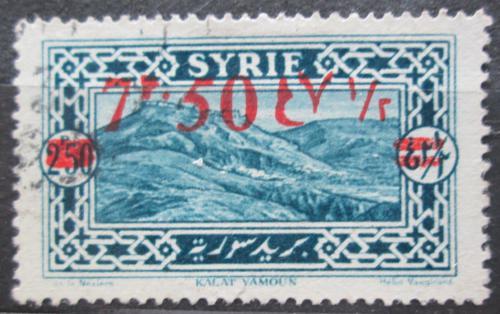 Poštovní známka Sýrie 1928 Kalat Yamoun pøetisk Mi# 312