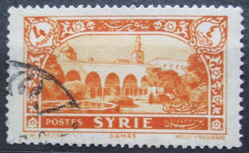 Poštovní známka Sýrie 1930 Palác v Damašku Mi# 347