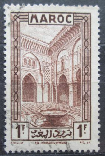 Poštovní známka Francouzské Maroko 1933 Al Attarine Madrasa Mi# 108