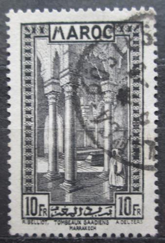 Poštovní známka Francouzské Maroko 1933 Královská nekropole Mi# 115 Kat 6.50€