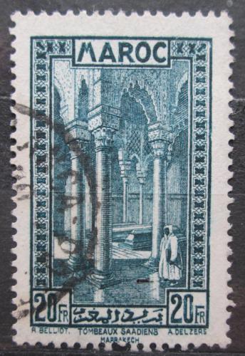 Poštovní známka Francouzské Maroko 1933 Královská nekropole Mi# 116 Kat 7€