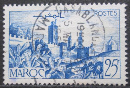 Poštovní známka Francouzské Maroko 1949 Opevnìní mìsta Mi# 267