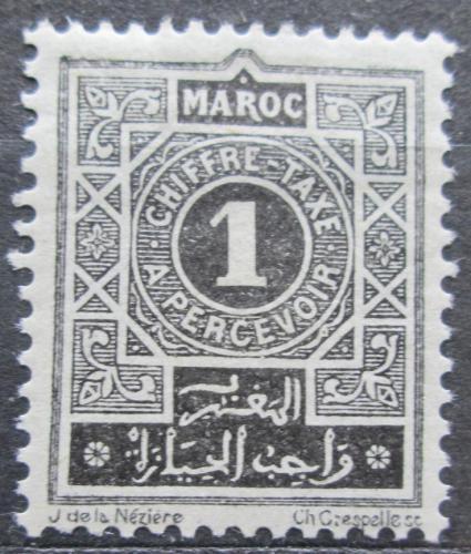 Poštovní známka Francouzské Maroko 1917 Doplatní Mi# 11