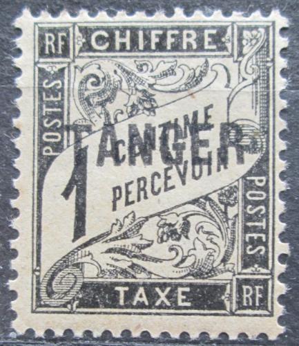 Poštovní známka Tanger, Francouzské Maroko 1918 Doplatní Mi# 1
