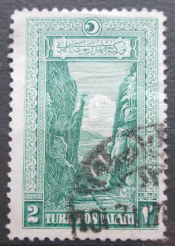 Poštovní známka Turecko 1926 Soutìska Sakarya Mi# 846