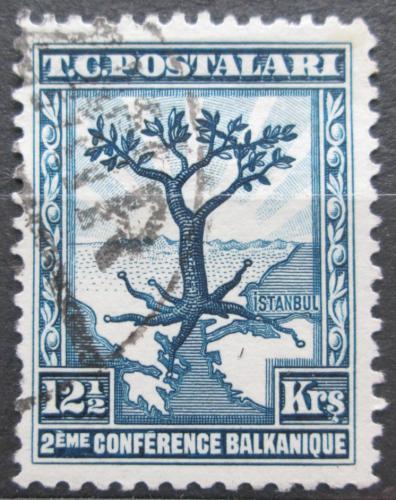 Poštovní známka Turecko 1931 Olivovník evropský Mi# 936