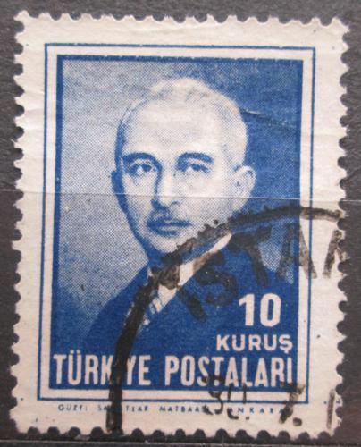 Poštovní známka Turecko 1946 Prezident Ismet Inonu Mi# 1177
