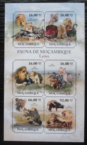 Poštovní známky Mosambik 2011 Lvi Mi# 5029-34 Kat 12€
