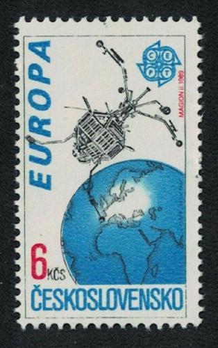 Poštovní známka Èeskoslovensko 1991 Evropa CEPT, prùzkum vesmíru Mi# 3084 Kat 3€