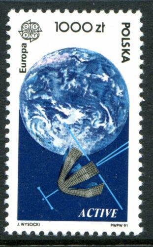 Poštovní známka Polsko 1991 Evropa CEPT, prùzkum vesmíru Mi# 3331