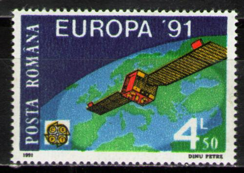 Poštovní známka Rumunsko 1991 Evropa CEPT, prùzkum vesmíru Mi# 4653 Kat 4€