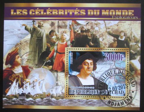 Poštovní známka Èad 2015 Kryštof Kolumbus Mi# N/N