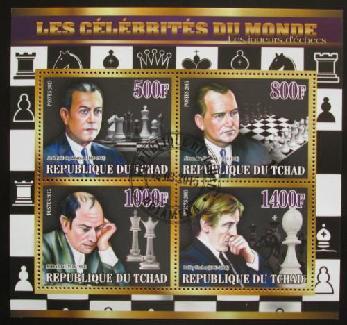 Poštovní známky Èad 2015 Slavní šachisti Mi# N/N