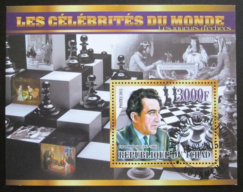 Poštovní známka Èad 2015 Tigran Petrosian, šachy Mi# N/N