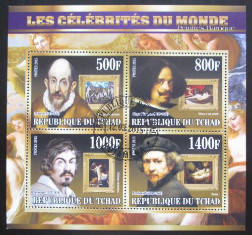 Poštovní známky Èad 2015 Barokní malíøi, umìní Mi# N/N