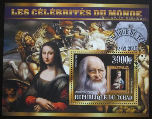 Poštovní známka Èad 2015 Umìní, Leonardo da Vinci Mi# N/N