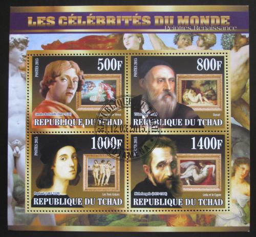 Poštovní známky Èad 2015 Renesanèní malíøi Mi# N/N