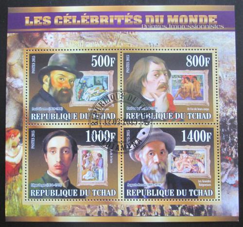 Poštovní známky Èad 2015 Malíøi, impresionismus Mi# N/N