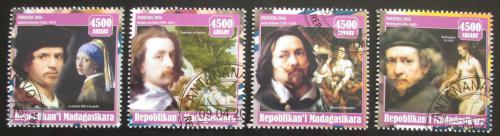 Poštovní známky Madagaskar 2016 Umìní, vlámští malíøi Mi# N/N