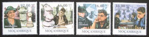 Poštovní známky Mosambik 2011 Maia Chiburdanidze, šachy Mi# 4584-87 Kat 11€