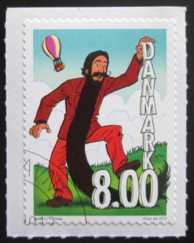 Poštovní známka Dánsko 2013 Animovaná postavièka Mi# 1734