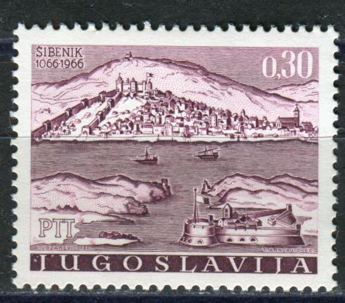 Poštovní známka Jugoslávie 1966 Šibenik, 900. výroèí Mi# 1184
