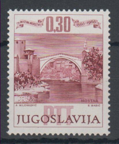 Poštovní známka Jugoslávie 1966 Starý most v Mostaru, 400. výroèí Mi# 1185 Kat 5€