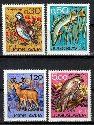 Poštovní známky Jugoslávie 1967 Fauna Mi# 1228-31