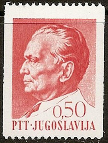 Poštovní známka Jugoslávie 1969 Prezident Tito Mi# 1343