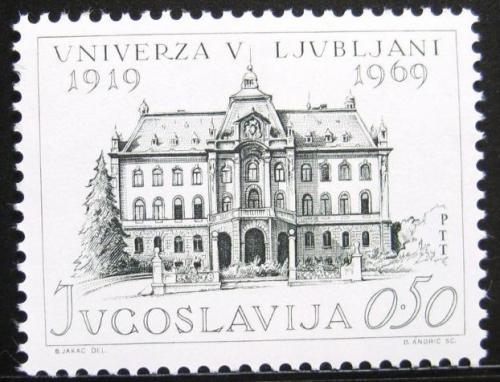 Poštovní známka Jugoslávie 1969 Univerzita Lublaò Mi# 1358