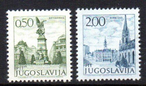 Poštovní známky Jugoslávie 1972 Mìsto Mi# 1476-77