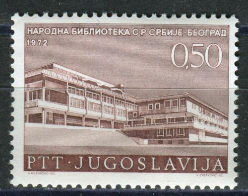 Poštovní známka Jugoslávie 1972 Národní knihovna v Bìlehradì Mi# 1486