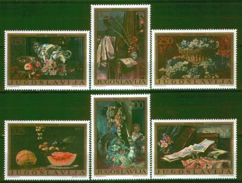 Poštovní známky Jugoslávie 1972 Umìní Mi# 1487-92