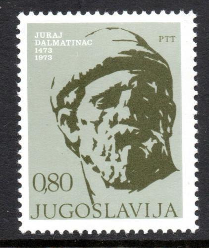 Poštovní známka Jugoslávie 1973 Juraj Dalmatinac, sochaø Mi# 1522