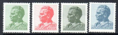 Poštovní známky Jugoslávie 1974 Prezident Tito Mi# 1551-54