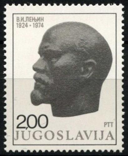 Poštovní známka Jugoslávie 1974 V. I. Lenin Mi# 1556