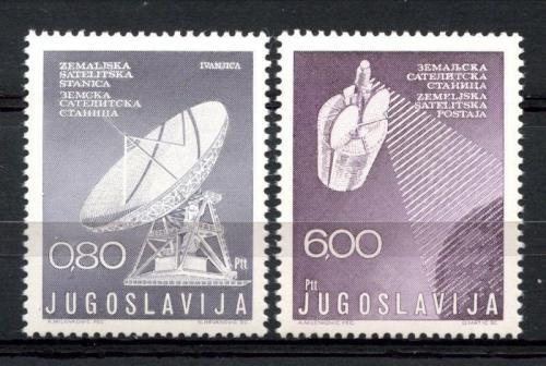Poštovní známky Jugoslávie 1974 Satelity Mi# 1565-66