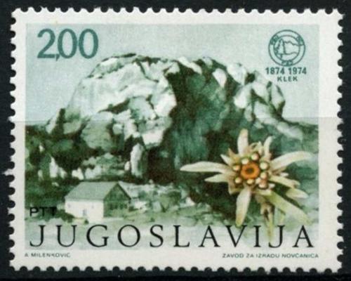 Poštovní známka Jugoslávie 1974 Hora Klek Mi# 1568