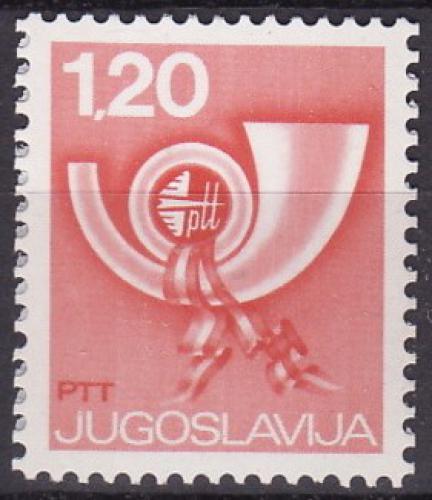 Poštovní známka Jugoslávie 1974 Poštovní roh Mi# 1583